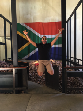 At the apartheid museum, Johannesburg, South Africa