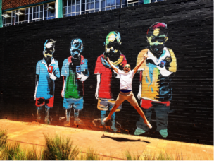 "During a tour of Johannesburg Maboneng, a Sotho word meaning ""Place of Light"", is a fitting name for a district that has fast become a centre of creative energy for Johannesburg's urban artists, designers and social entrepreneurs"